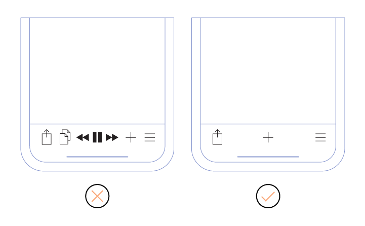 Overloaded app design
