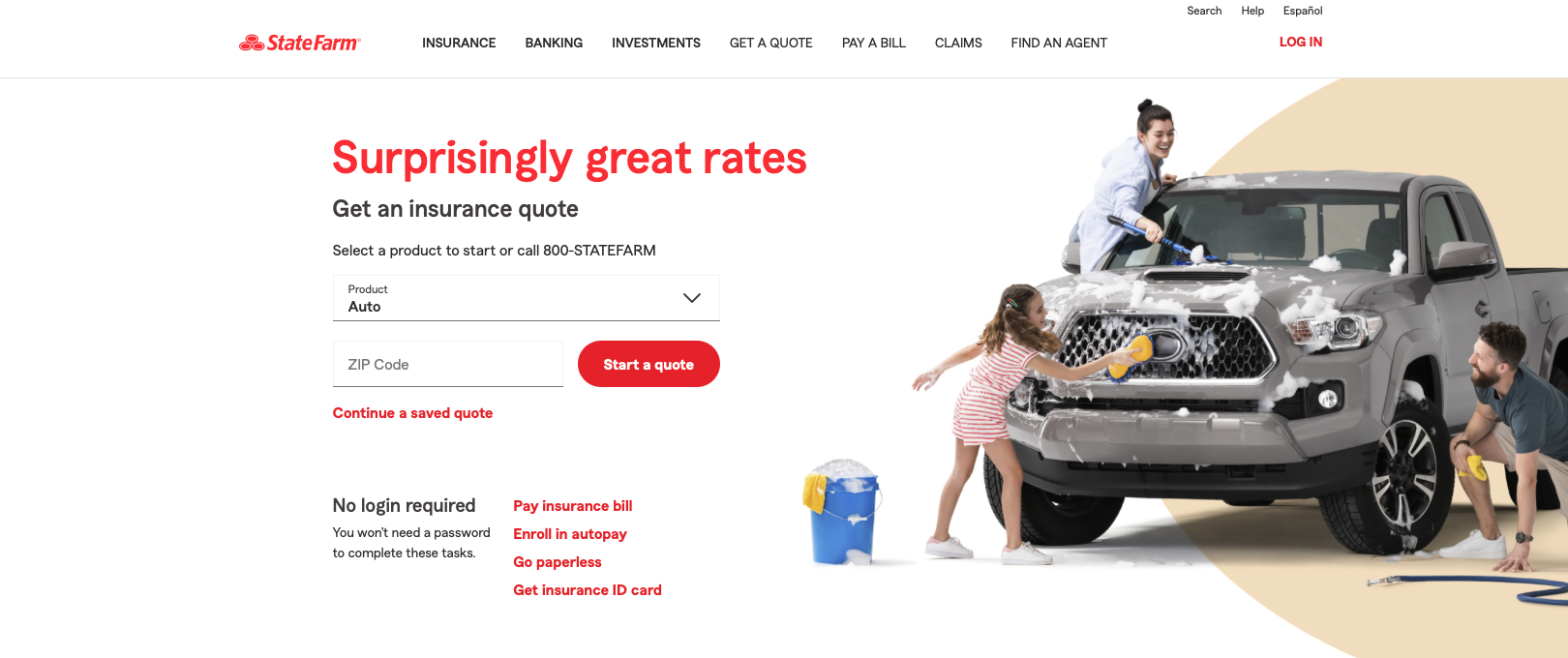 best insurance agency website design